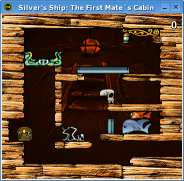 Silver's Ship: The First Mate's Cabin