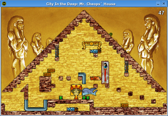 City In the Deep: Mr. Cheops' House